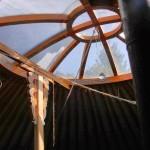 Střecha jurty