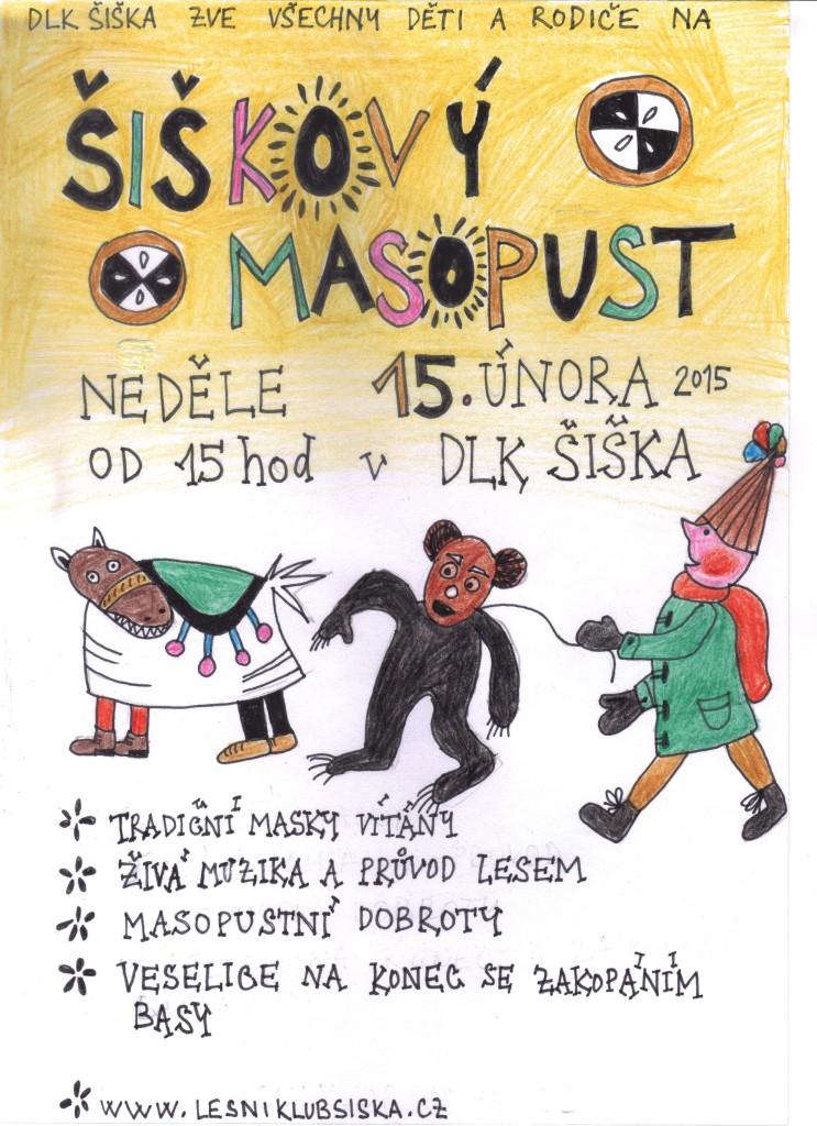 Masopust - leták